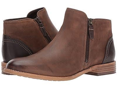 Clarks Maypearl Juno (Brown Leather) Women