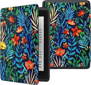 ATiC NEW-Kindle Paperwhite(Newモデル)ケース Kindle Paperwhite 2018 第10世代用軽量薄型保護カバー(オートスリープ機能付き) JungleNight
