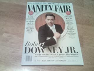 Vanity Fair 2014 October - Robert Downey Jr. Is the Highest-paid Actor in the World