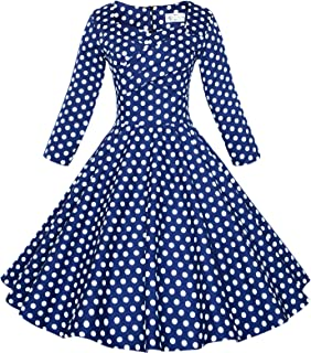 Maggie Tang 50s 60s Vintage Swing Picnic Party Casual Cocktail Dress