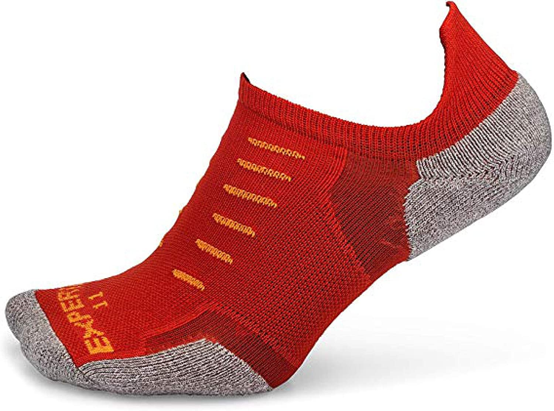 Amazon.com: Thorlos Experia No Show Sock With Sock Ring Gift; Size: X-Small  - Poppy: Clothing