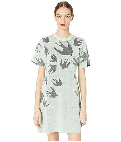 McQ Pointelle SW Dress (Mint) Women