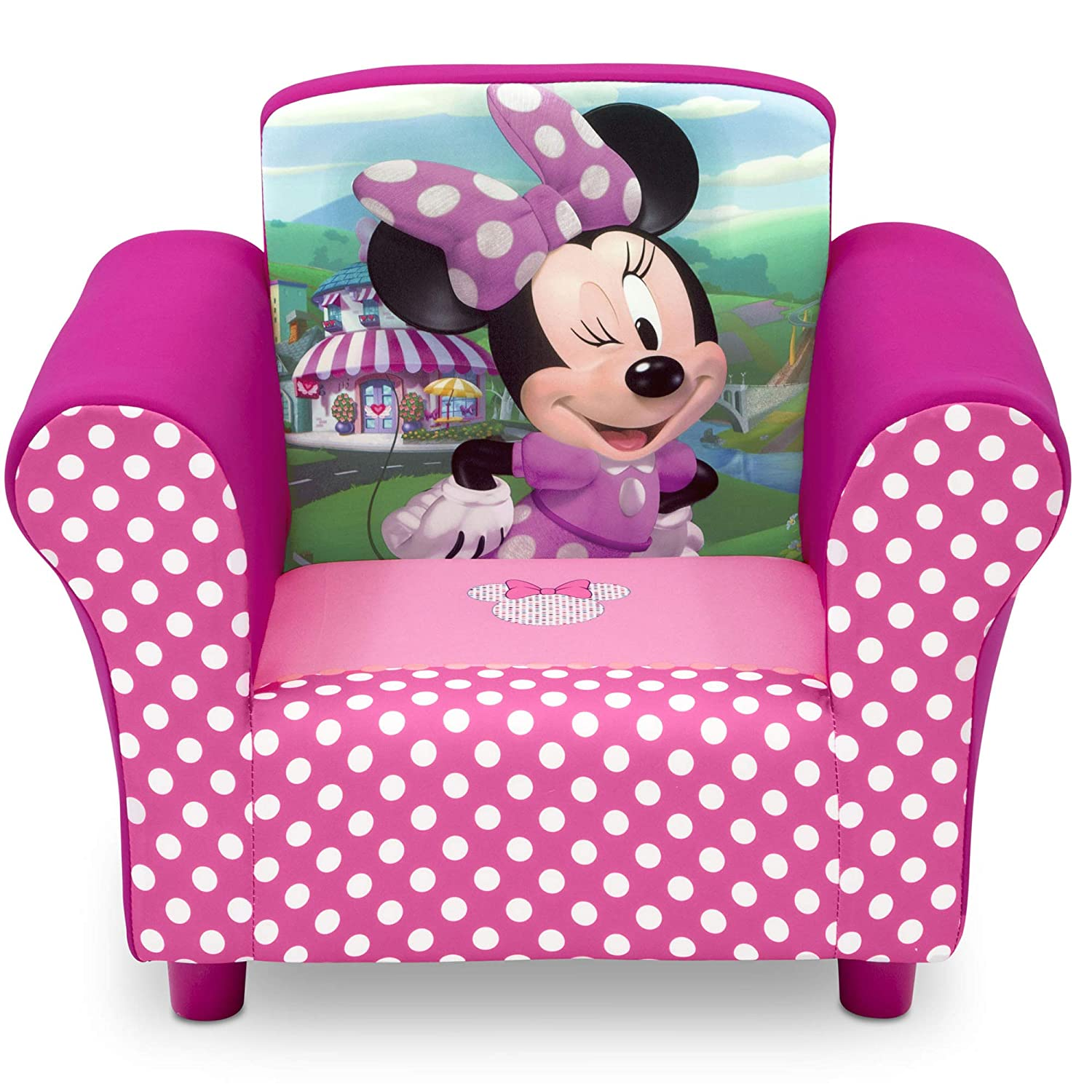 Delta Max 67% OFF Children Finally resale start Disney Minnie Upholstered Chair Mouse