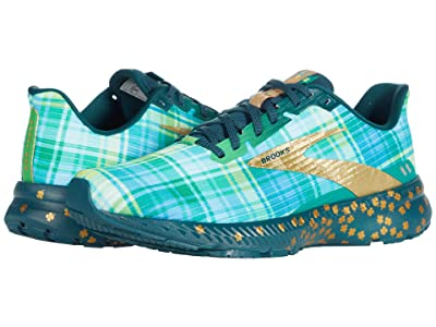 Brooks Launch 8 (Fern Green/Metallic Gold/Deep) Men