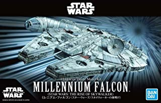 Bandai Star Wars Millennium Falcon The Rise of Skywalker 1/144 Scale