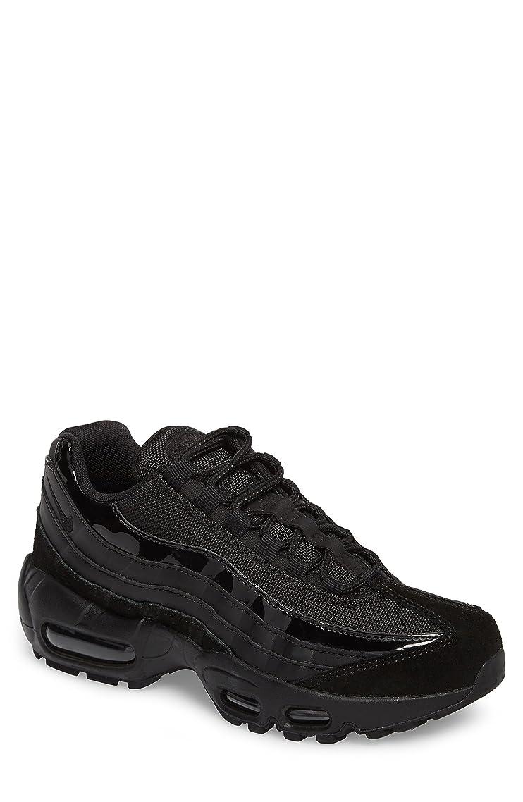 庭園値下げ地理ナイキ シューズ スニーカー Nike Air Max 95 Running Shoe (Women) Black/ Bla [並行輸入品]