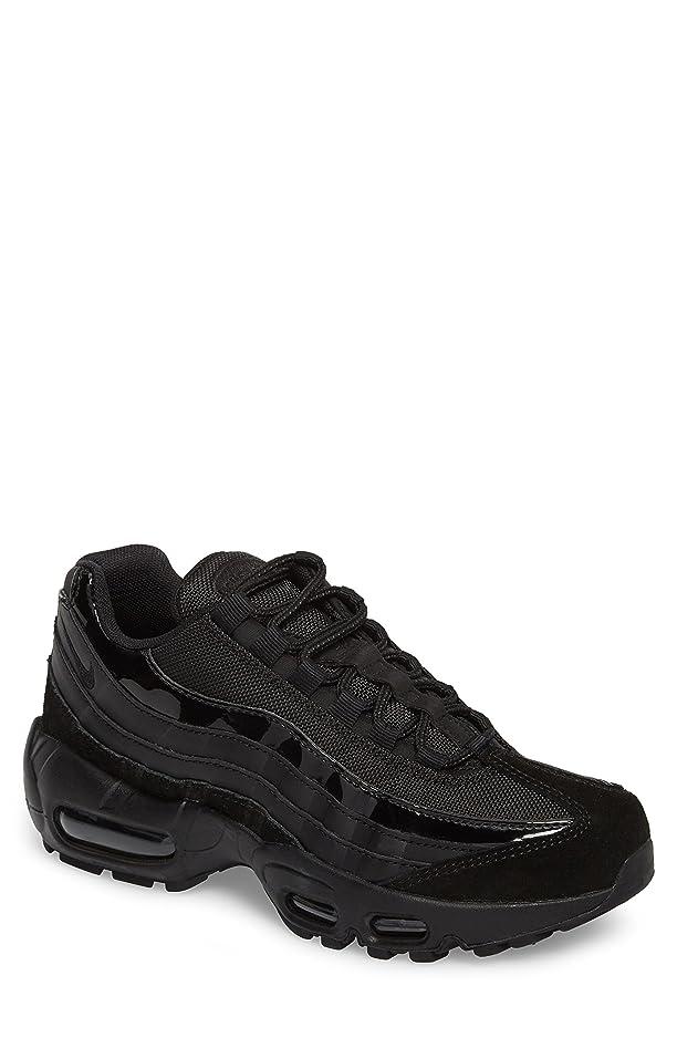 継承精度シールドナイキ シューズ スニーカー Nike Air Max 95 Running Shoe (Women) Black/ Bla [並行輸入品]