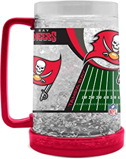 NFL Tampa Bay Buccaneers 16oz Crystal Freezer Mug