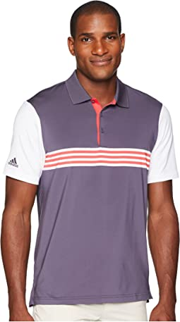 Ultimate Engineered 3-Stripe Polo