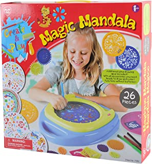 PlayGo 7351Magical Mandala Toy, 26Pieces