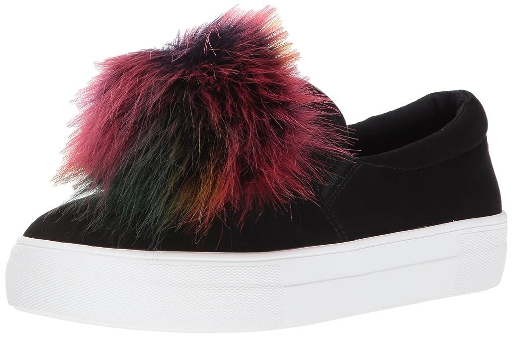 統合劇的シーズンSteve Madden Women's Great Ankle-High Fabric Slip-On Shoes