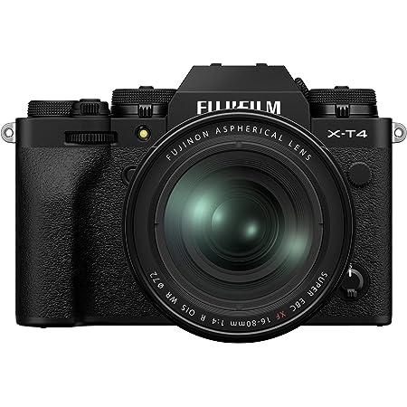 Fujifilm X-T4 Mirrorless Digital Camera (with 16-80mm Lens, Black)