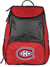 NHL Montreal Canadiens PTX Insulated Backpack Cooler, Red