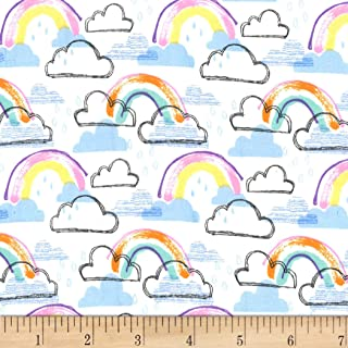 Best rainbow flannel fabric Reviews