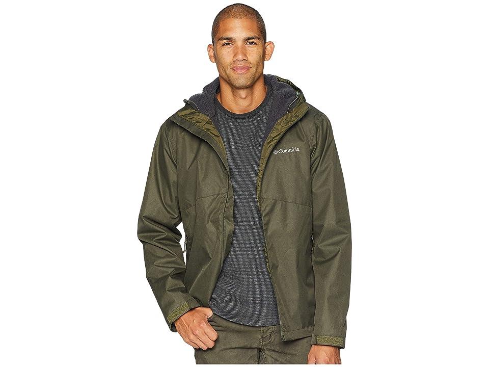 Columbia Rainie Fallstm Jacket (Peatmoss/Stone Sherpa) Men