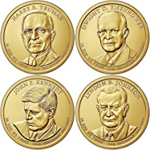 2015 P, D Presidential Dollar 8-Coin Set Uncirculated