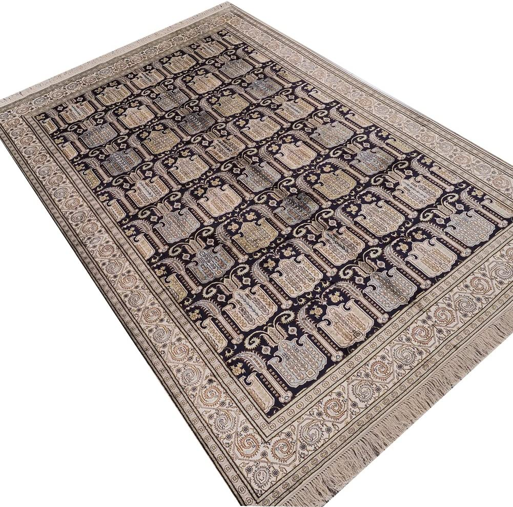 SEAL limited product Camel Challenge the lowest price of Japan Carpet 6'x9' Oriental Rugs Carpe Knotted Hand Persian Silk