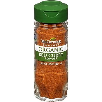 McCormick Gourmet Organic Red Curry Powder, 1.37 oz