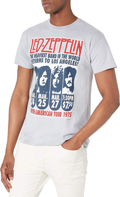 Led Zeppelin Herren T-Shirt Faded Falling schwarz