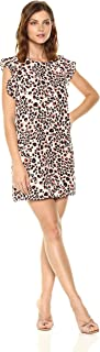 leopard and roses dress