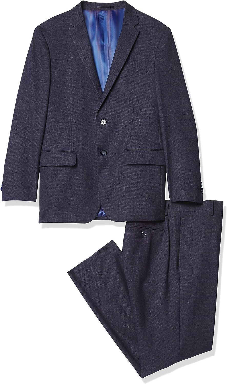 Kitonet Men's 2-Piece Dotted Slim Fit Suit