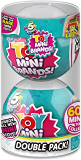 5 Surprise Toys Mystery Capsule Real Miniature Brands Collectible Toy (2 Pack) by ZURU (7793)