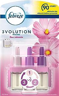 Febreze Recharges 3Volution pour Diffuseur Électrique, Fleur Naissante - 20 ml