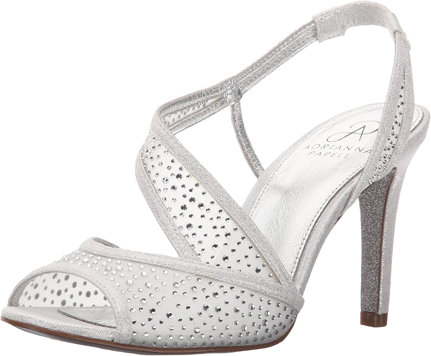 Adrianna Nashville-Davidson Quantity limited Mall Papell Women's Andie Sandal Dress