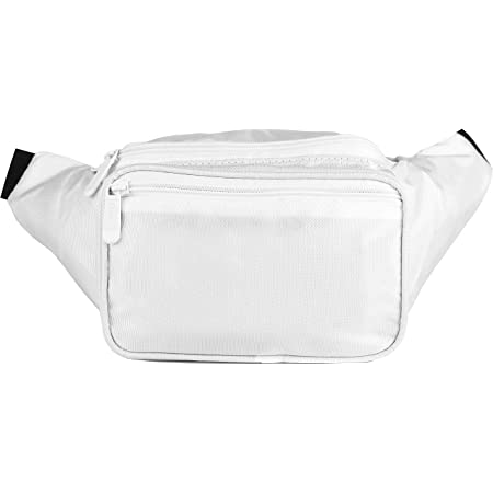 SoJourner White Fanny Pack - Packs for men, women | Cute Festival Waist Bag Fashion Belt Bags