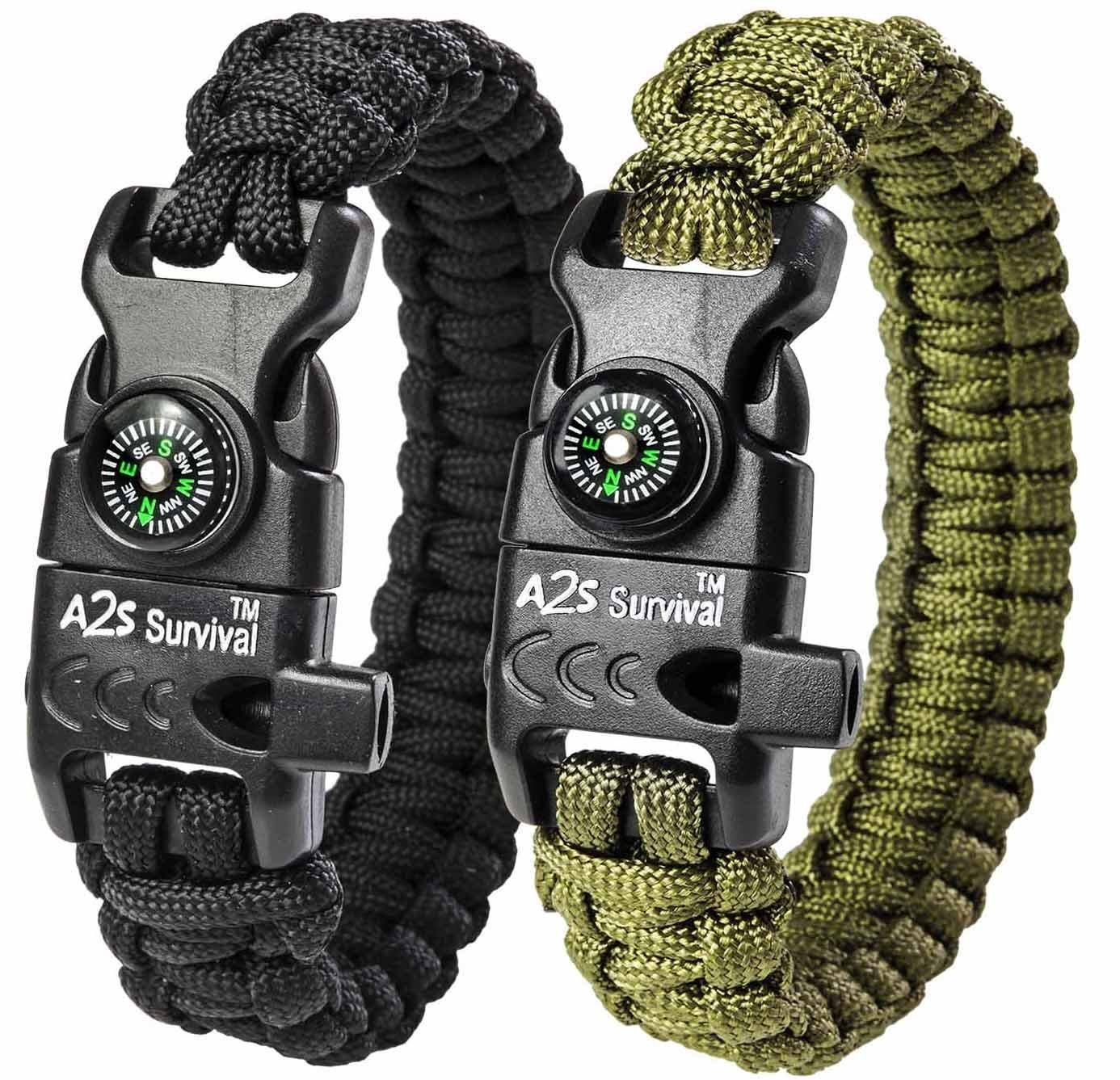 A2S Paracord Bracelet K2 Peak Emergency