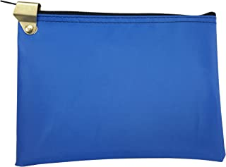 Medication Zipper Hood Security Bag (Royal Blue)