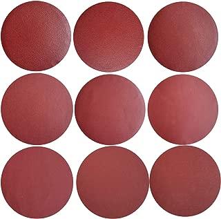 Sackorange 50 PCS 9-Inch NO-Hole PSA Aluminum Oxide Sanding Disc, Self Stick(5 Each of 120 180 240 320 400 600 800 1000 1500 2000)