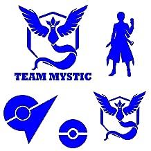 Team Mystic Vinyl Decal MultiPack