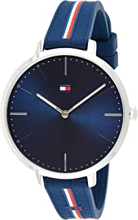 Tommy Hilfiger Women's Navy Dial Navy Silicone Watch - 1782154