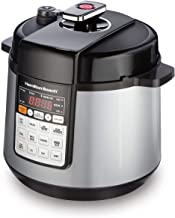 Hamilton Beach 10-in-1 Multi-Function Electric Pressure Cooker, 6 quart, with..