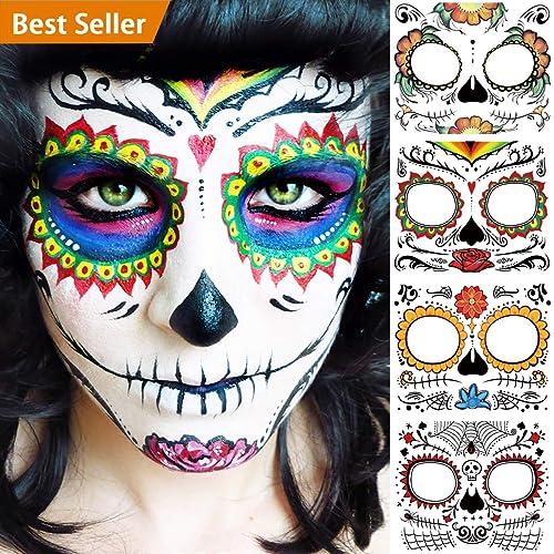 Dia De Los Muertos Makeup Amazoncom