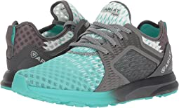 Turquoise/Gray Ombre Mesh