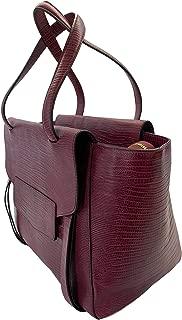 Italian Leather Tote Bag Satchel Womens Shoulder Handbags Purses