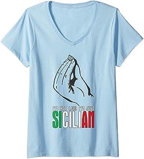 Coat Of Arms Of Palermo Sicily Souvenir Palermu Sicilian Sweatshirt