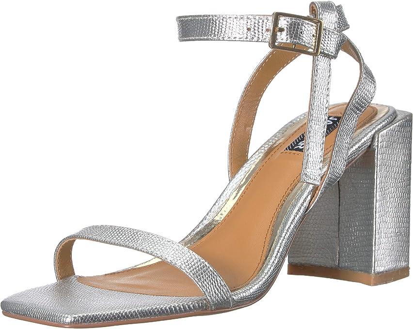 Jaggar Essential Lizard Heel, Womens Shoes, Silver (Silver), Women
