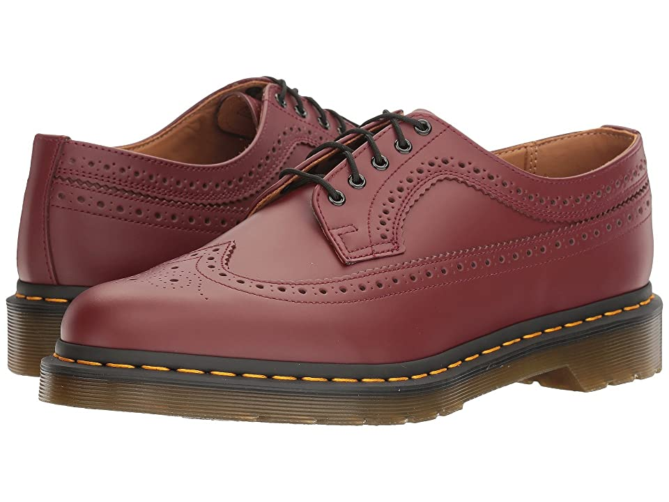 Dr. Martens 3989 (Cherry Red Smooth) Lace up casual Shoes