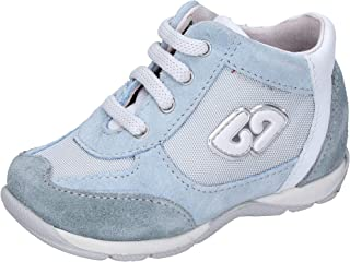 balducci Sneaker Bambino Pelle Scamosciata Grigio