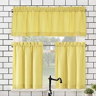 Amazon Com Kitchen Curtains And Valances Set