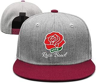 Unisex Wool Blend Vintage Baseball Cap Rose Bowl Parade Logo Womens Baseball Cap