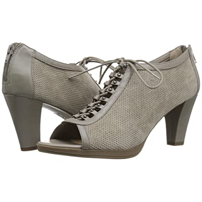 Bella-Vita Lilo (Stone Kid Suede Leather/Stone) High Heels