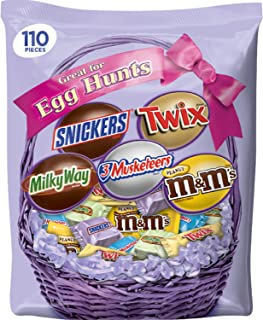 MARS Chocolate Easter Candy Spring Variety Mix 34.98-Ounce 110-Piece Bag