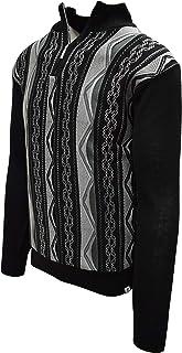 Men's Quarter Zipped Pullover Winter Sweater