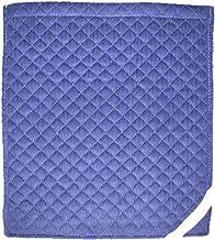 大明企画防災頭巾用 コール天カバー大ブルー 座布団式 約32×36cm 417-01