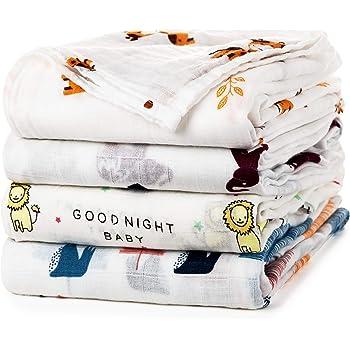 Easy Peasy Pod Baby Swaddling Blanket en coton ivoire