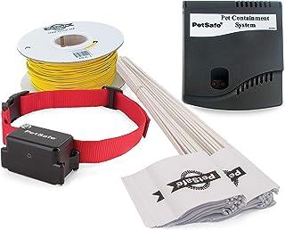PetSafe - Système de Clôture Anti-fugue avec collier et Fil pour Grand Chien ou Chien Têtu de plus de 4 kg - Tous types de...